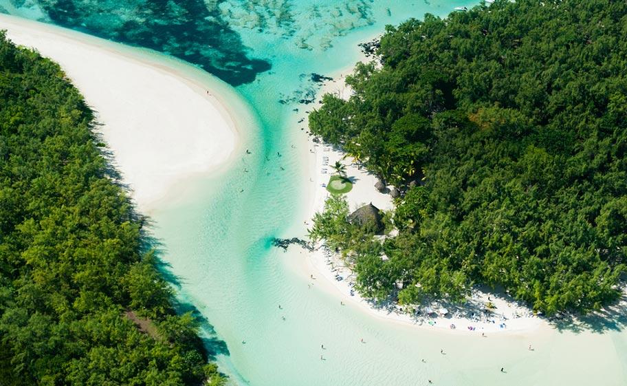Mauritius Badeferien auf l'ile aux Cerfs Mauritius