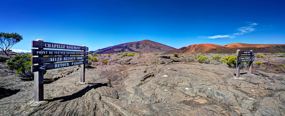 La Reunion Honeymoon - Ausflug auf den Vulkan