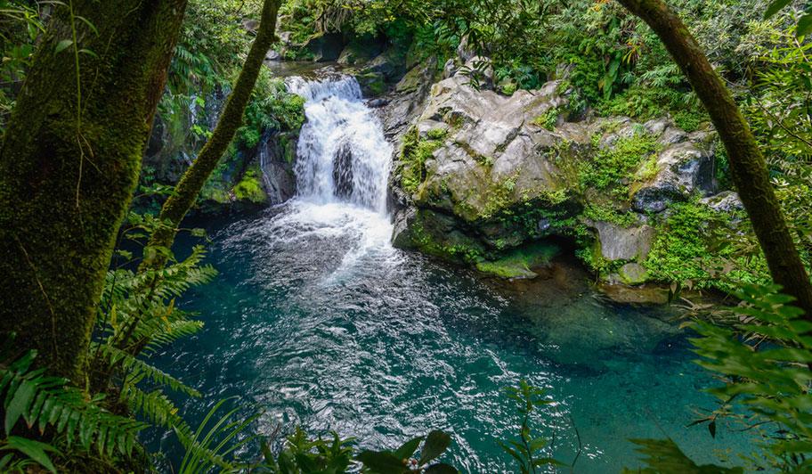 Natürlicher Pool La Reunion