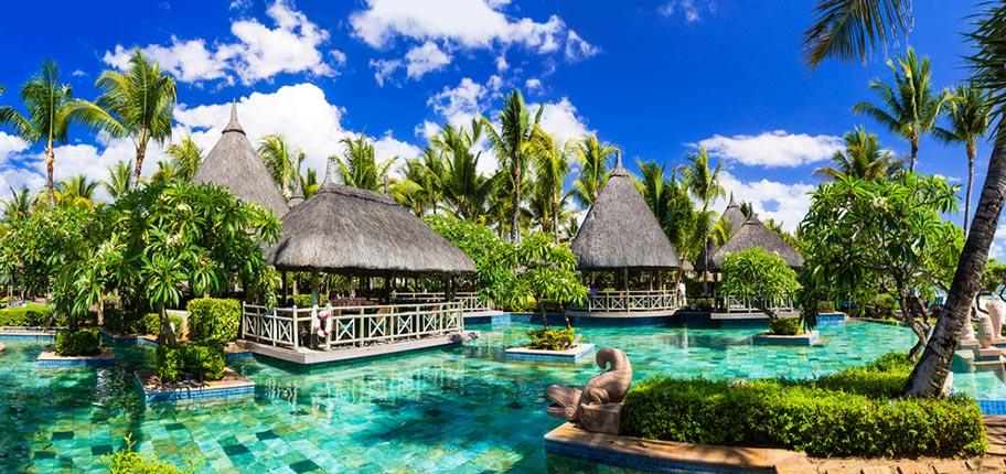 Mauritius Hochzeitsreise im Luxushotel