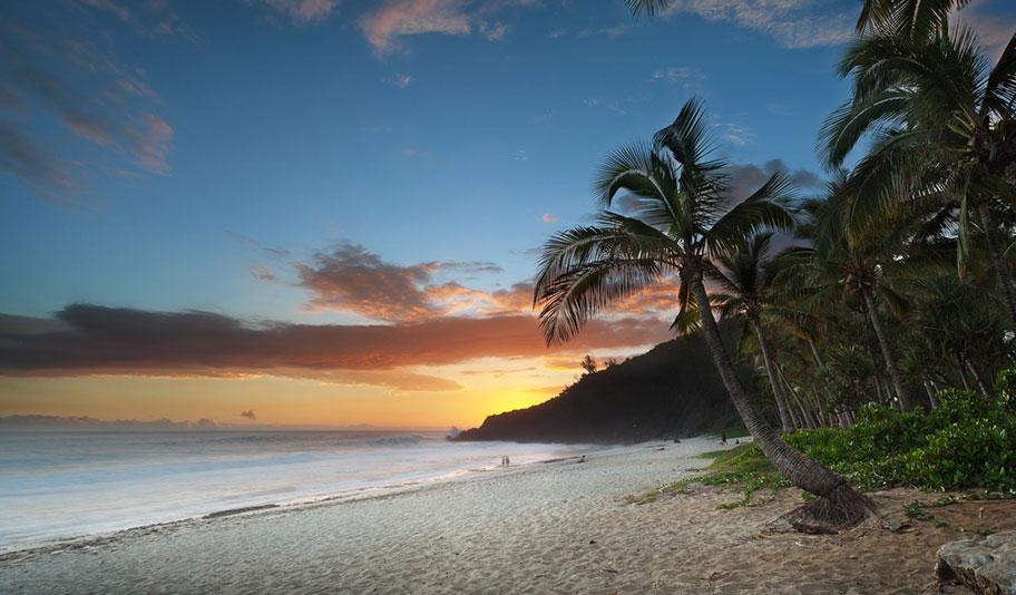 Sonnenuntergang La Réunion