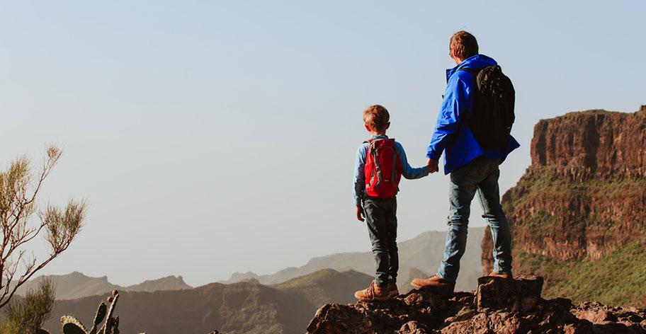 Familie Wanderung Insel La Réunion